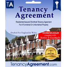 Assured Shorthold Tenancy Agreement Template Document Downloads Tenancyagreement Com